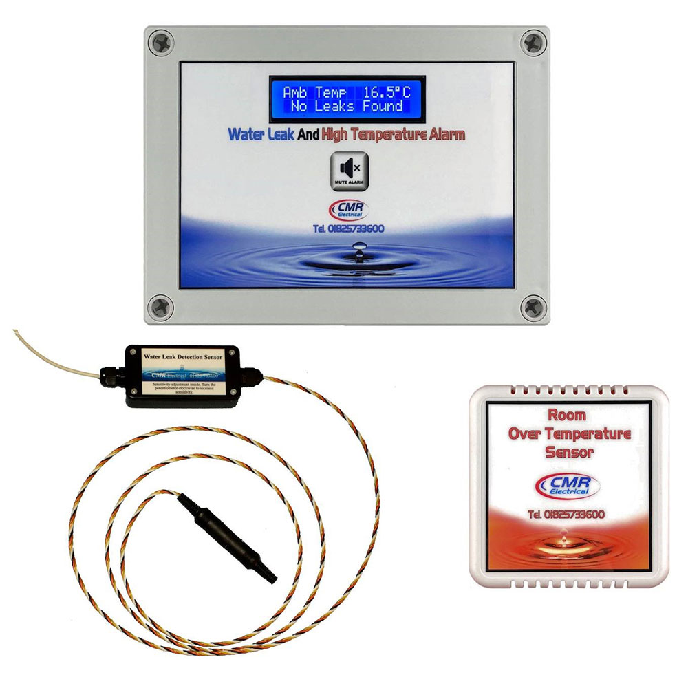 Water Leak and Room High Temperature Alarm type CWT2-2