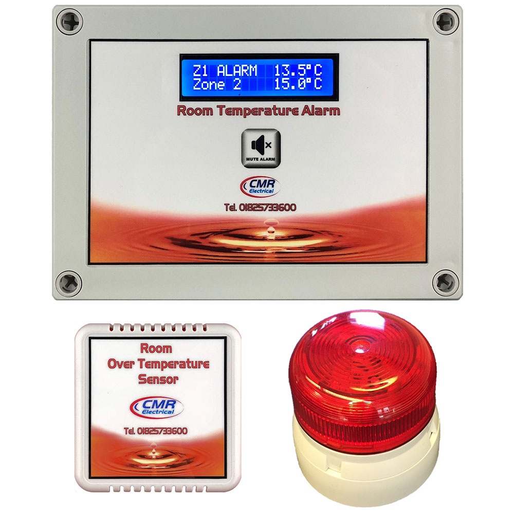 ONE AND TWO ZONE ROOM OVER TEMPERATURE ALARM TYPE RTA2