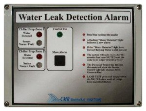One and Two Zone Water Leak Detection Alarm Type LD2