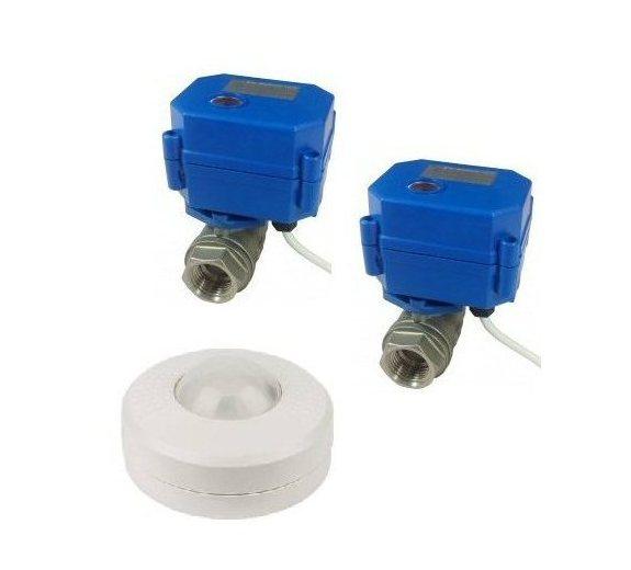 BPIR with shut off valves