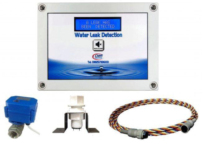 LD2-3 alarm unit, sensors and valve
