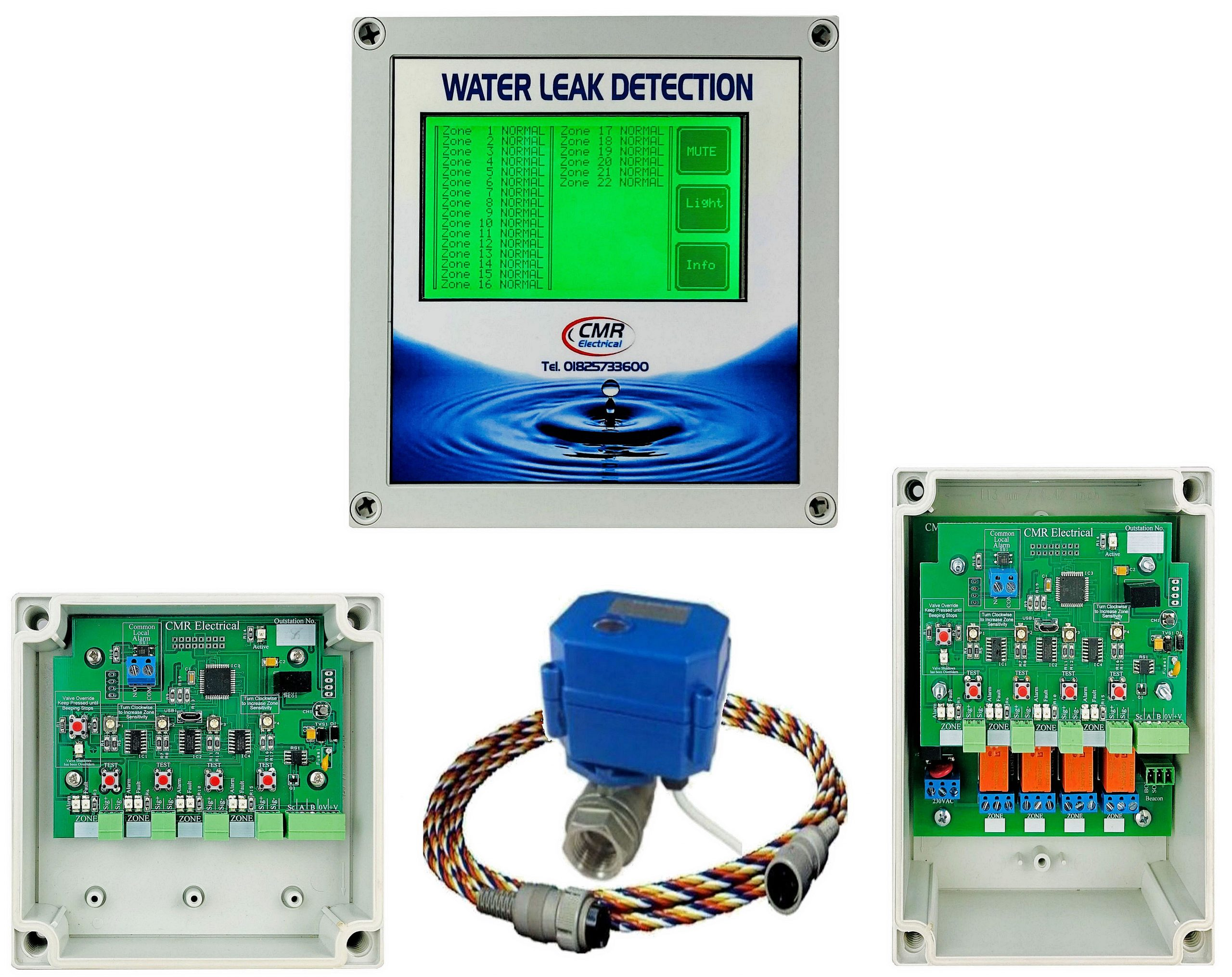 LD32 controller and outstations
