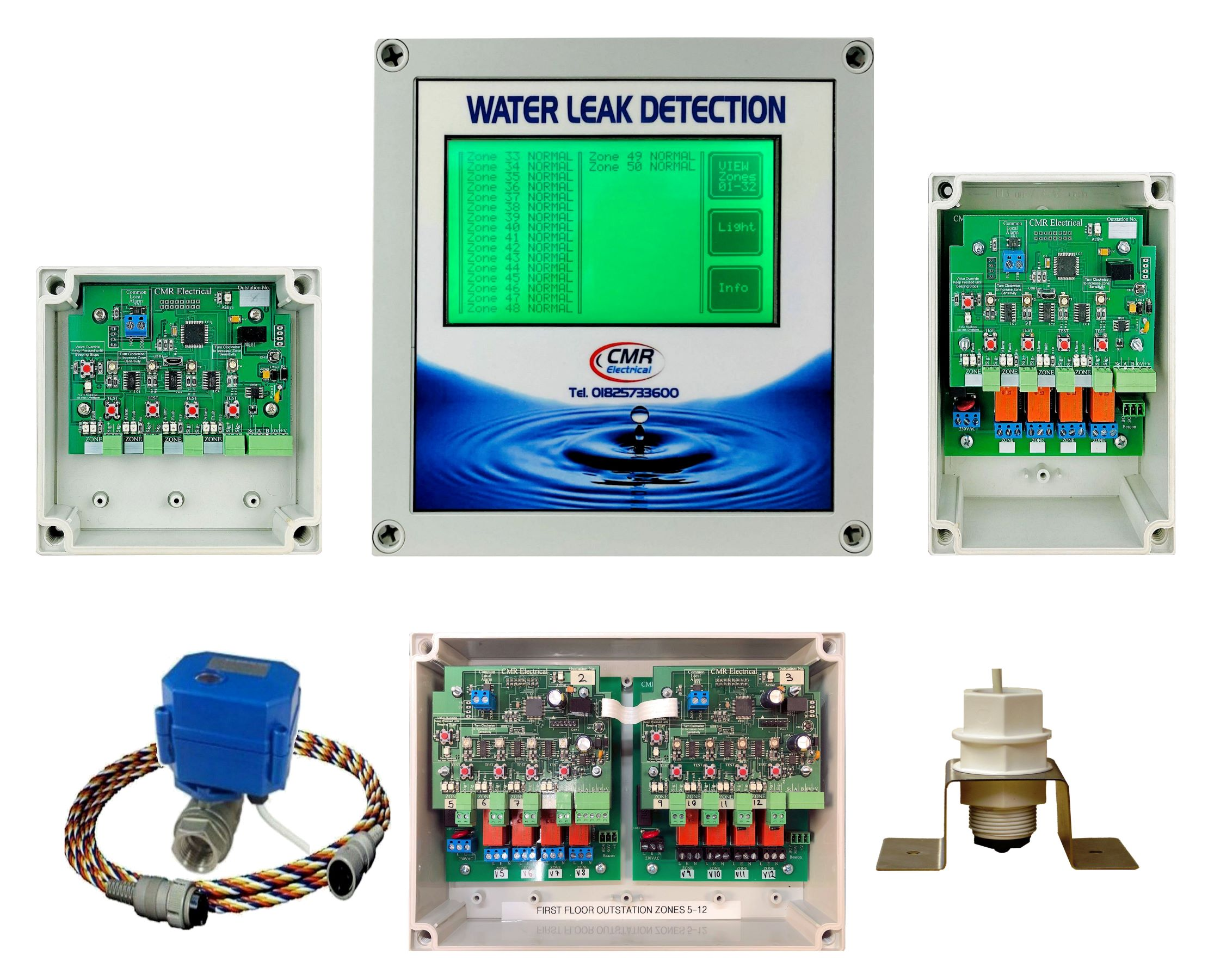 LD64 alarm unit and outstations